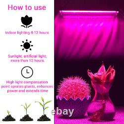 2000W Full Spectrum LED Grow Light High Output Integrated 2x 48LED Growing Lamp