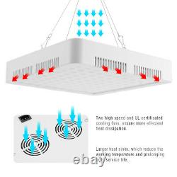 2PCS 5000W LED Grow Light Full Spectrum For Indoor Hydroponic Plant Flower Bloom