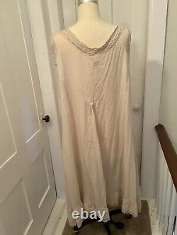 Magnolia Pearl 100% Cotton Floral Embroidered Slip Dress