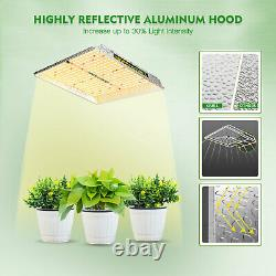 Mars Hydro TS 600W 1000W 2000W 3000W LED Grow Light Indoor Tent for Veg Flowers